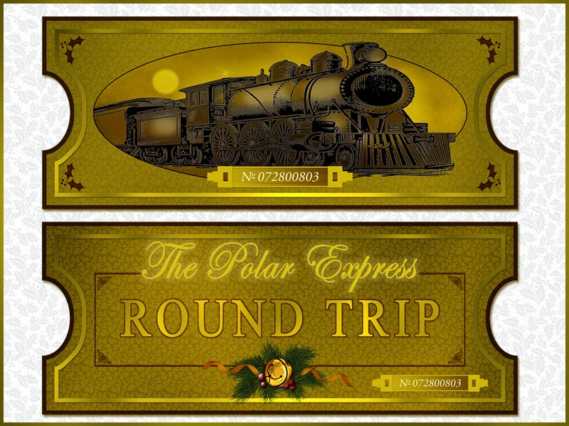 Clip art polar express party cliparts for Express template engines